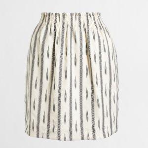J crew Sidewalk Skirt in Ikat